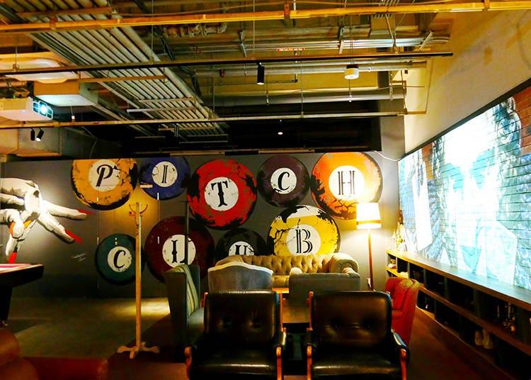 B1 Floor Bar lounge PITCH CLUB