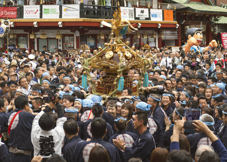 3. Catch one of the May festivals