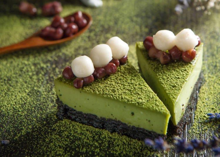 9. Dig into matcha desserts