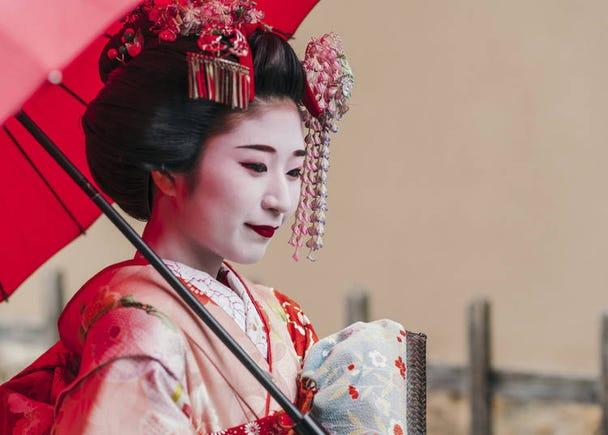 28. Geisha Makeover: Spruce up your holiday photo album!