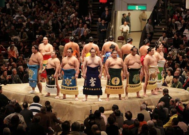 26. Sumo Wrestling: The national sport of Japan!