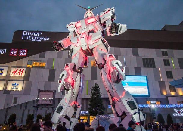 20. Life-size Gundam: The new icon of Odaiba!