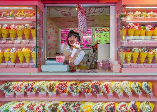 8. Harajuku Takeshita Street: Dive headfirst into Japan's kawaii (cute) subculture for an immersive local experience