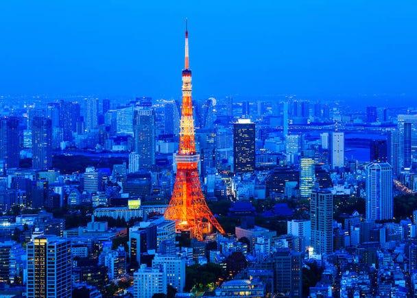 3. Tokyo Skyline: Taking in Tokyo's landscape from above