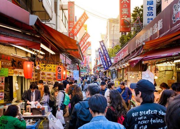 7. Ameyoko: Treasure-hunting at Ueno's budget-priced shopping street