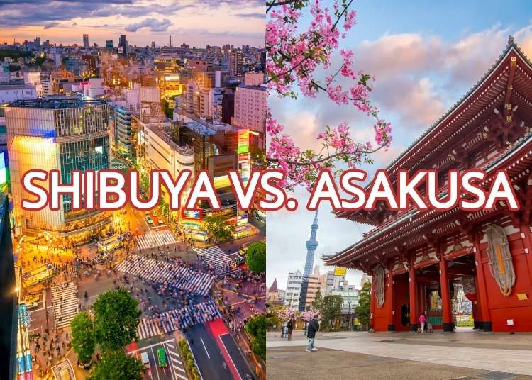 Visiting Shibuya and Asakusa - Two Popular Areas of Tokyo That Are Complete Opposites!
