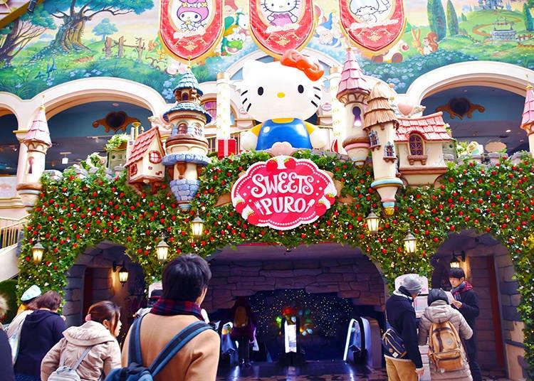 Who can go to Sanrio Puroland? Everybody!