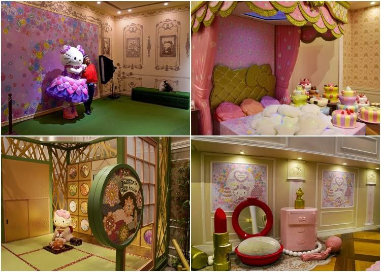 #3 Lady Kitty House and Japanese Tea House (Hello Kitty Meet and Greet)