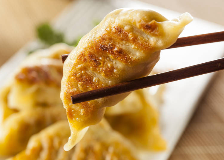 Gyoza a side dish!? The dough wrapping is totally different!