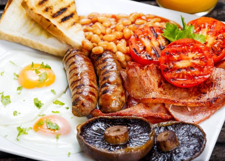 【イギリス】二日酔いは「ボリューム満点の朝食」で吹き飛ばす!?
