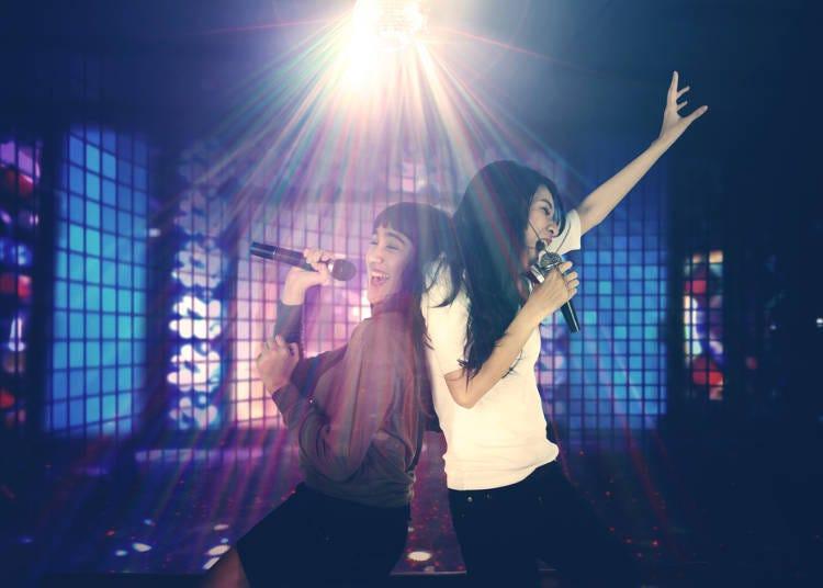 5. Karaoke should be sung in order!
