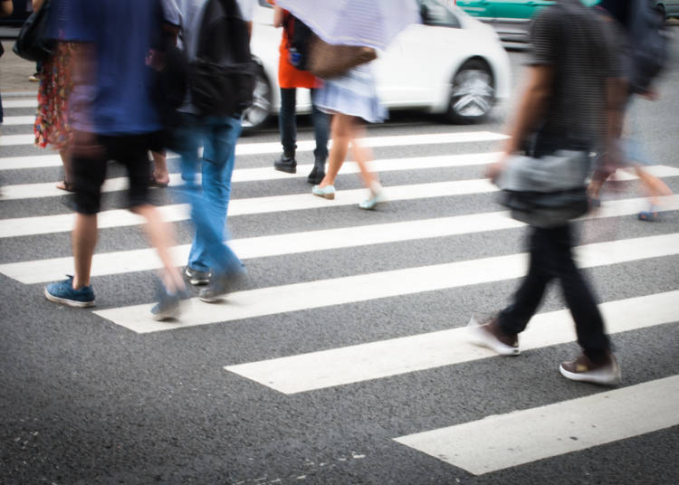 8. It is very safe to cross the road