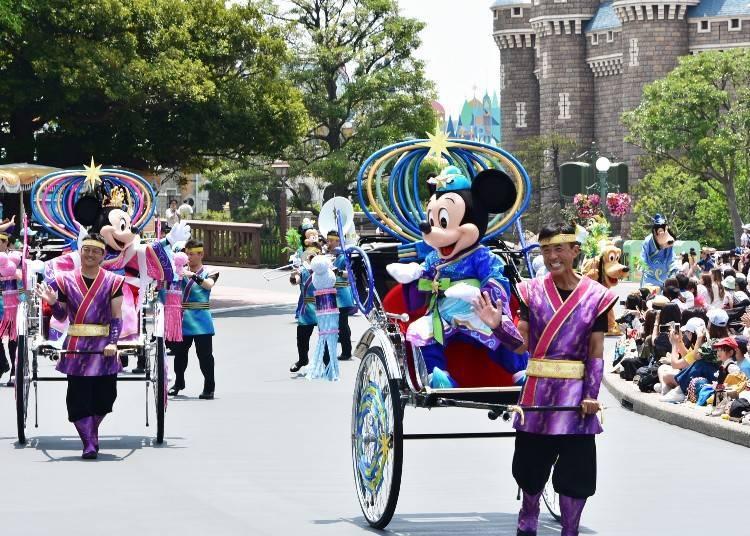 At Tokyo Disneyland Park ◆Tanabata Greeting