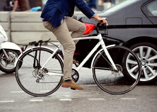 交通費削減!徒歩20分圏内は歩く&できるだけ移動は自転車で!