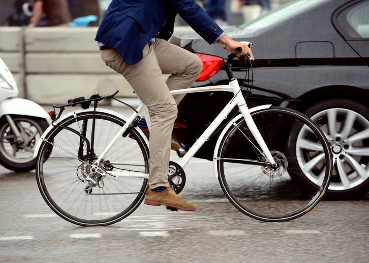 교통비 절감! 도보 20분 거리 내에는 걷거나 가능한 한 이동은 자전거로!