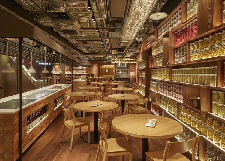 ■영양 만점의 식사를 즐길 수 있는 [MUJI Diner (무인양품 식당)]