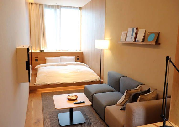 銀座無印良品飯店&旗艦店!帶你直擊整組無印家具打造的「MUJI HOTEL」