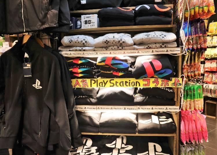 VILLAGE VANGUARD熱銷商品④廣受歡迎的遊戲主機設計商品「PlayStation LOGO商品&遊戲角色」