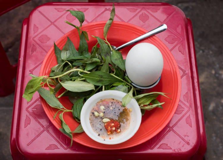 番外編:世界のびっくり卵料理、ベトナムで食すアヒルのゆで卵