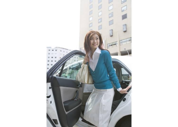 도쿄의 도로통행은 한국과 반대!