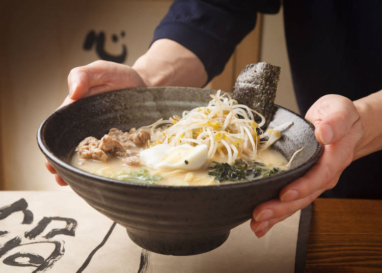 A town with cheap but delicious mid-tier Japanese food like ramen and curry rice