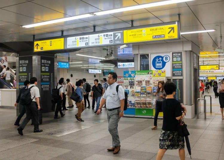 知っておくと便利な、JR秋葉原駅の構造