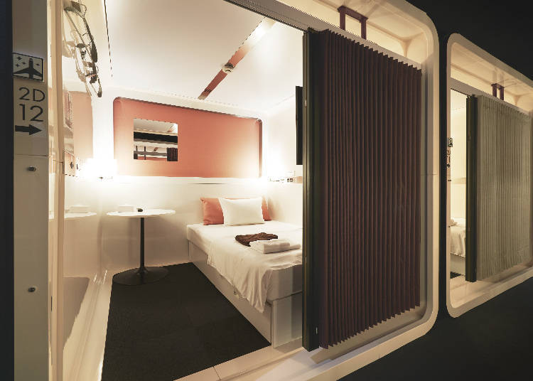 3. First Cabin Akihabara: A capsule hotel of a higher grade