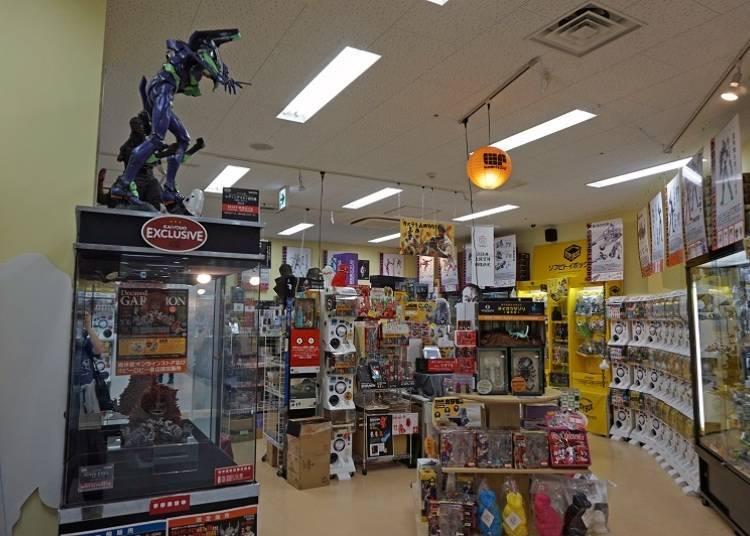 Kaiyodo Hobby Lobby Tokyo: Super-impressive high-quality figurines!