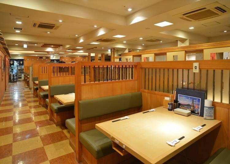 4. (Permanently Closed) Izakaya Uoyaicchou: Fresh seafood for about 3,000 yen