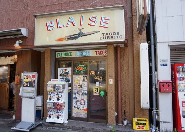 2. Blaise: Famous Taco Shop Loved by Akihabara Fans