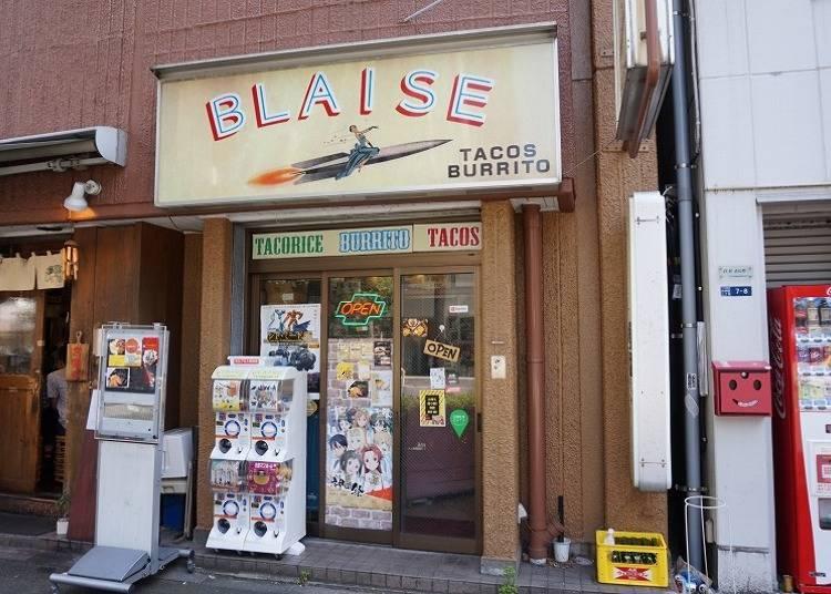 深受秋葉原常客愛戴的墨西哥捲餅專門店!「BLAISE」