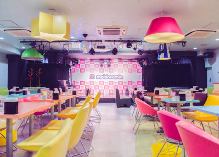 4. Maidreamin: A cafe with universal appeal that entertains guests from varied demographics