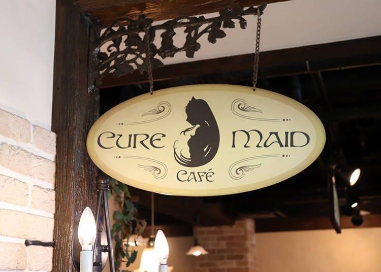 ■우아하고 여유롭게 힐링 타임을 즐길 수 있는 'CURE MAID CAFÉ'