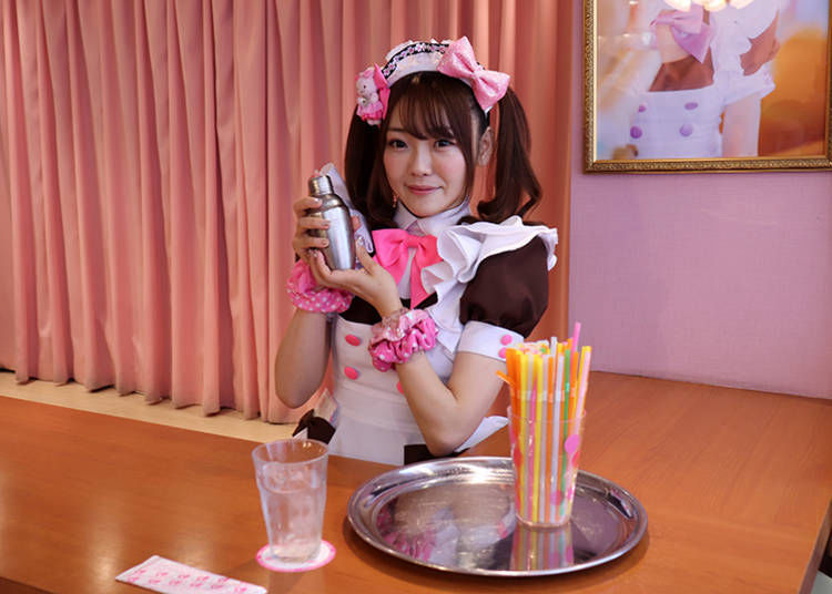 "■Enjoy 'Omajinai' with Maids: ""Make it delicious - Moe, Moe, Kyun!"""