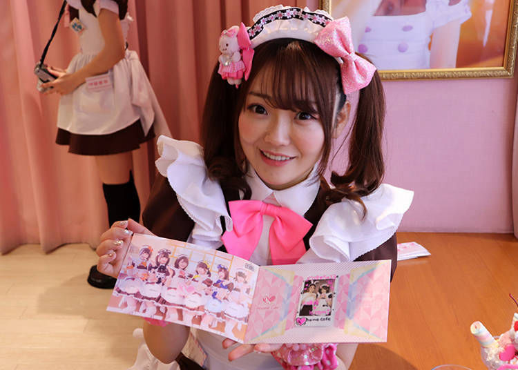 ■Making Memories with the Maid and Commemorative Photos