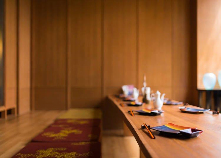 ■レストランで