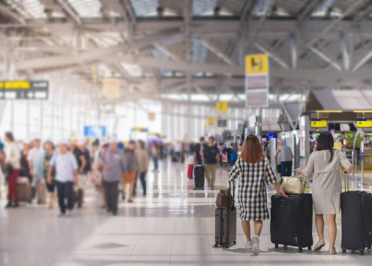 ■ 여행 일본어 회화 - 공항에서