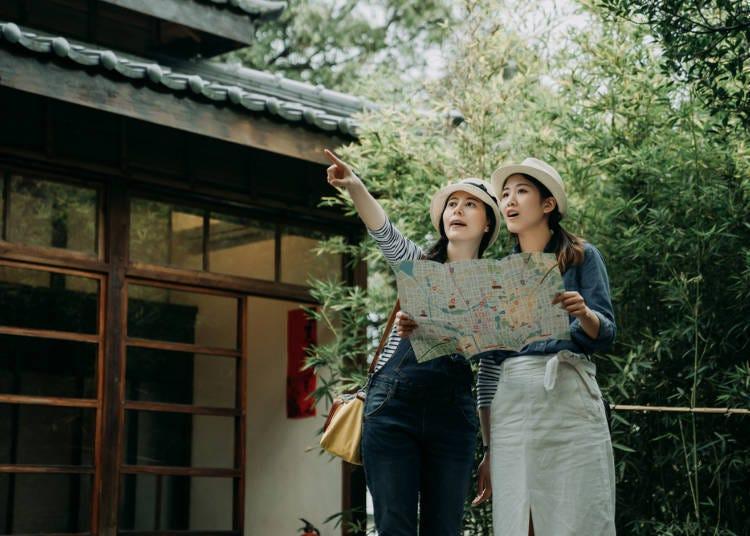 ■ 여행 일본어 회화 거리 산책 시