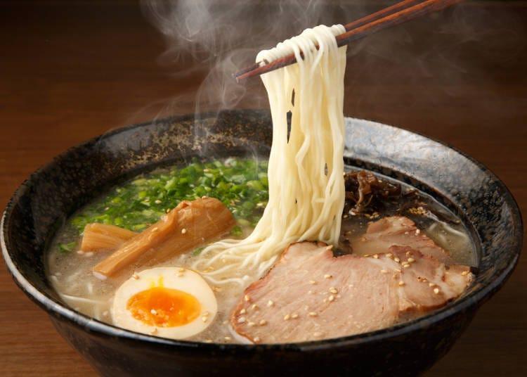 拉麵日文教學①表達麵硬度的用語「超級軟」到「鐵絲般硬」