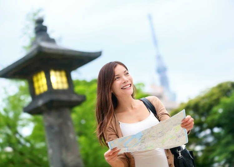 ■可以輕鬆觀光的常用觀光日文例句