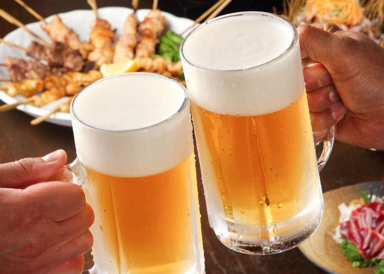 Japan Izakaya Basics: How To Order Drinks & Food In Japanese!