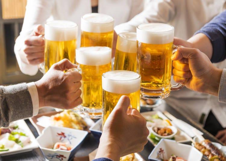 居酒屋で「飲んでいる最中」も、覚えておきたい日本語がいっぱい!