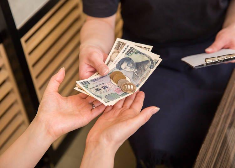 最後に…居酒屋での「会計時」に覚えておきたい日本語