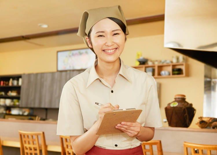 居酒屋「點餐時」常用的日文單字