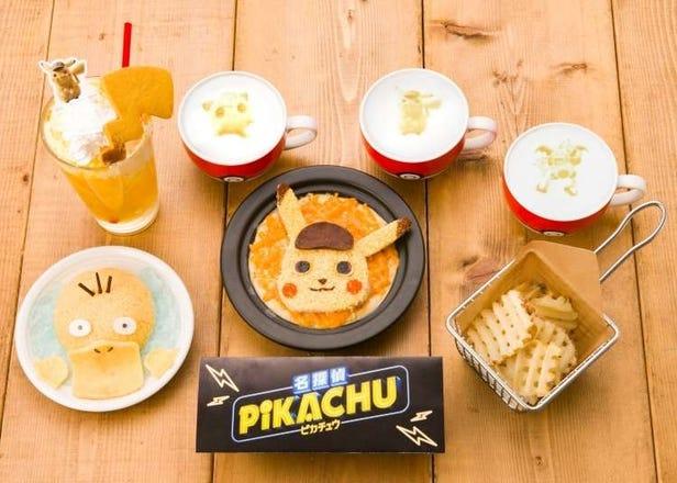 Detective Pikachu Makes His Debut at Tokyo's Pokémon Café!