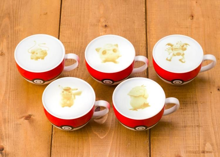 Pokémon Café: 'Detective Pikachu' Latte Art!