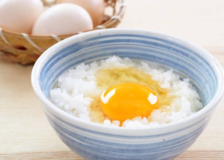 Isn't eating raw eggs dangerous?!