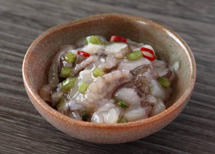 Takowasa: Japanese eat octopus?! Even without eating it I know I don't like it!