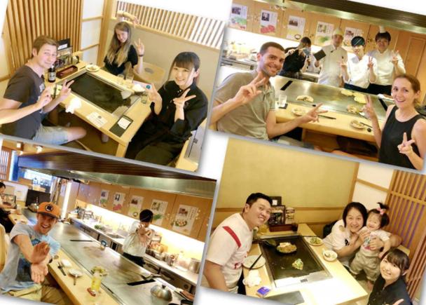 免費拍照服務能與工作人員一起拍下紀念照!