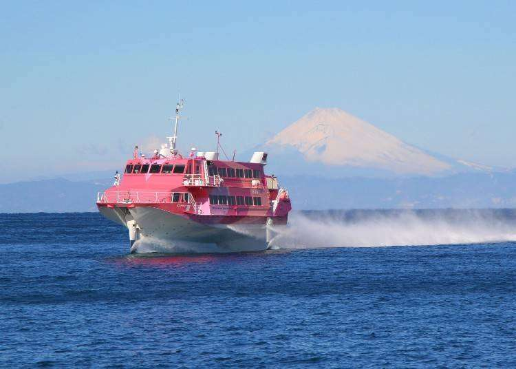 Top 5 Popular Experiences for Tourists! Riding a High-Speed Jet Ferry to Tokyo's Remote Islands